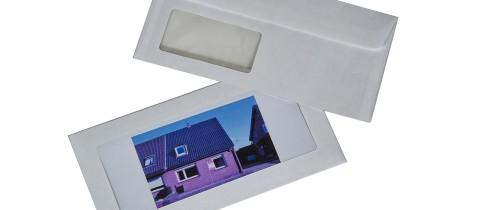 Exposeversandtaschen mit Fenster