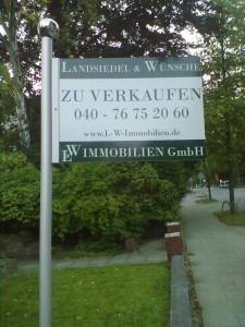Immobilien Verkaufsgalgen komplett 149,49 € zzgl. Mwst.