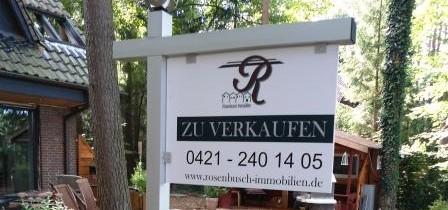 Immobilien- Verkaufsgalgen klassisch & exclusive 139,00 € netto + Versand